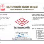 Goldsit Quality Management System Certificate